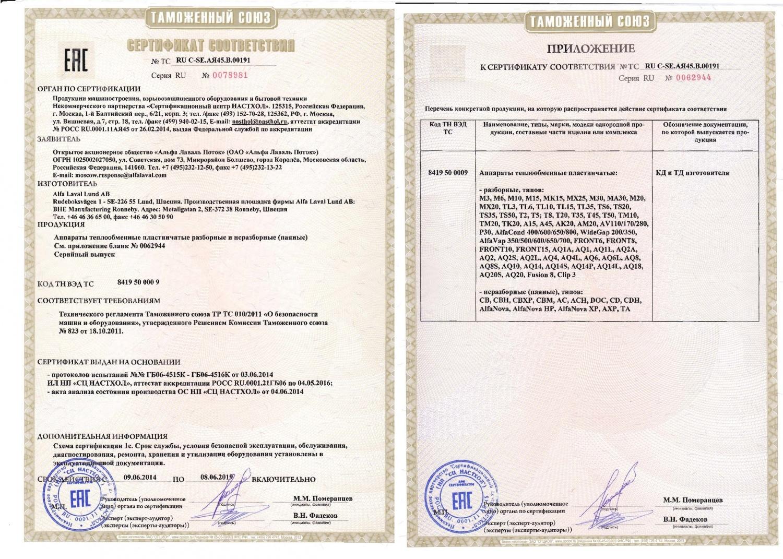 Теплообменники альфа лаваль сертификат Пластинчатый теплообменник Машимпэкс (GEA) VT10 Камышин