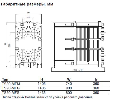 Пластинчатый теплообменник Теплохит ТИ 60 Владимир