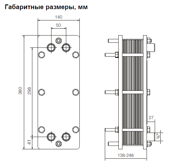 Пластинчатый теплообменник и насосы Пластинчатый теплообменник Теплохит ТИ 60 Тюмень