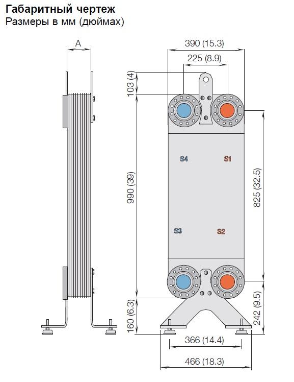 Паяный теплообменник Alfa Laval CB60-10H Минеральные Воды Пластины теплообменника Теплохит ТПР 4 Архангельск