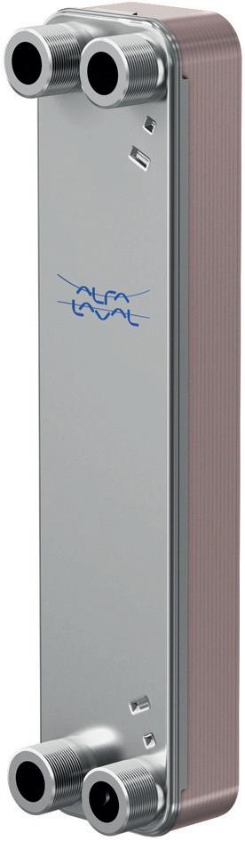 Паяный теплообменник Alfa Laval CBXP112 Иваново Кожухотрубный конденсатор WTK CF 315 Сыктывкар